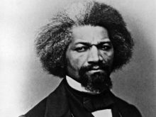 circa 1855: Ex-slave, American abolitionist, agent of the Massachusetts Anti-Slavery Society and US Minister to Haiti in 1889, Frederick Douglass (Frederick Augustus Washington Bailey) (1817 - 1895). He became the first black man to be received at the White House, by President Abraham Lincoln. (Photo by Library Of Congress/Getty Images)