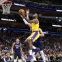 Davis James Carry Lakers Past Mavs 119 110 In Ot Thriller