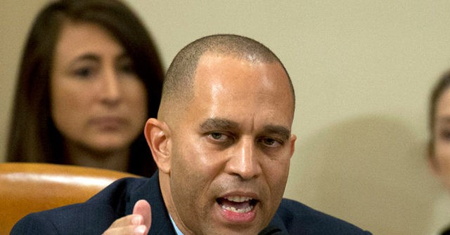 , Jeffries: GOP Claims to Be About Law and Order — 'Really Just Phony, They're Hypocrites', Nzuchi Times Breitbart