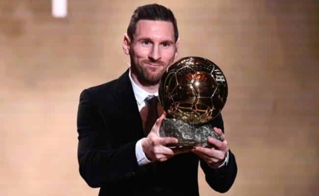 Messi Wins Sixth Ballon D Or As Rapinoe Takes Women S