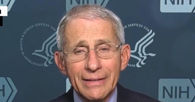 , Fauci Begs Americans 'Please Get Vaccinated' to Protect Against Virus Variants, Nzuchi Times Breitbart