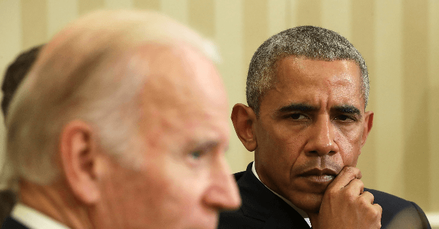 , Barack Obama: Joe Biden 'Finishing the Job' with My Former Staff', Nzuchi Times Breitbart