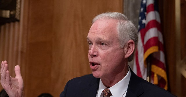 , Exclusive — Sen. Ron Johnson: Republicans Negotiating with Democrats on Infrastructure 'Complicit' with Leftist Agenda, Soaring Inflation, Nzuchi Times Breitbart