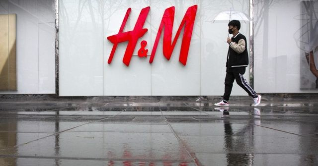 China says H&M changed online map after criticism - Breitbart