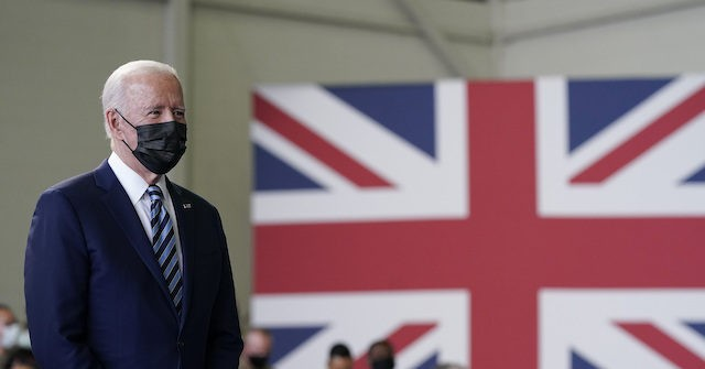 , Joe Biden Lands in the United Kingdom to Reverse Trump's 'America First' Foreign Policy, Nzuchi Times Breitbart
