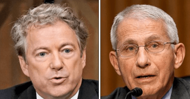 , Washington Post Columnist: 'Rand Paul Was Right and Fauci Was Wrong', Nzuchi Times Breitbart