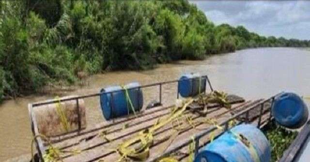 , Drug Cartels Utilize Makeshift Ferry to 'Float-Over' Drugs from Mexico to Texas, Nzuchi Times Breitbart