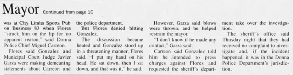 , EXCLUSIVE — Democrat Rep. Vicente Gonzalez Allegedly Made Anti-Police Statements, Sparking 2000 Bar Fight, Nzuchi Times Breitbart
