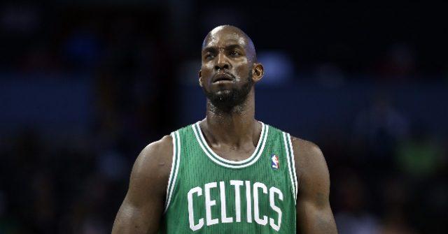 , Kevin Garnett Blasts Kyrie Irving for Stomping Celtics' Logo After Nets Win, Nzuchi Times Breitbart