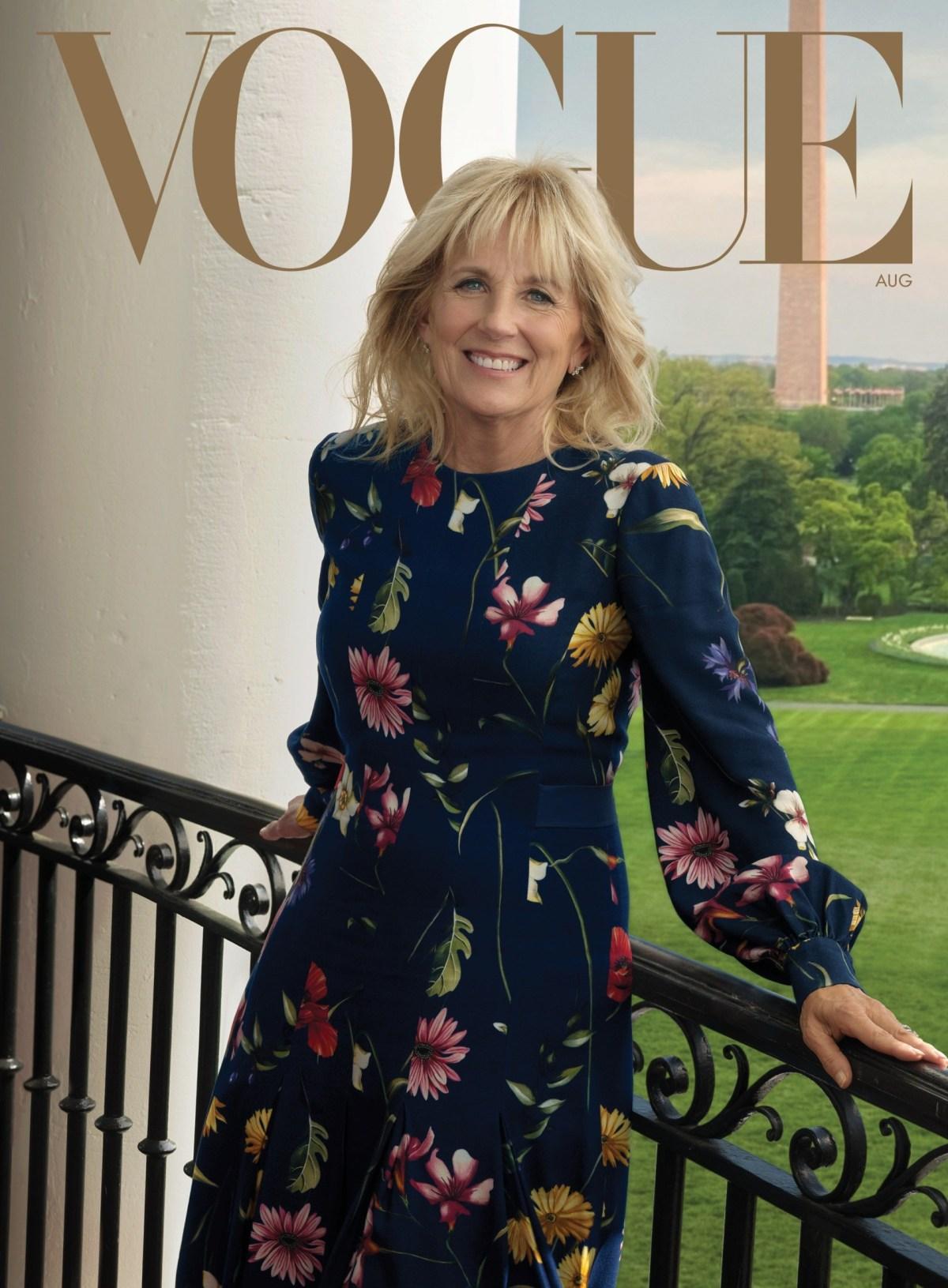 , Vogue Puts Jill Biden on August Cover After Snubbing Melania Trump, Nzuchi Times Breitbart