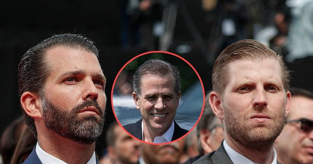, Donald Trump Jr: If Eric or I Used N-Word Like Hunter Biden, Corporate Media Would 'Lose Their Damn Minds' — 'They Are 100% Silent on This', Nzuchi Times Breitbart