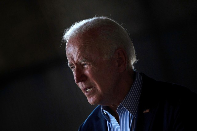 US President Joe Biden speaks about wild fires and climate change at Sacramento Mather Airport in Mather, California on September 13, 2021. - US President Joe Biden kicked off a visit to scorched western states Monday to hammer home his case on climate change and big public investments, as well as to campaign in California's recall election. (Photo by Brendan Smialowski / AFP) (Photo by BRENDAN SMIALOWSKI/AFP via Getty Images)