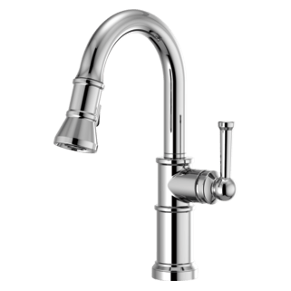 brizo kitchen faucet cheap table and chairs faucets artesso pull down prep 63925lf pc