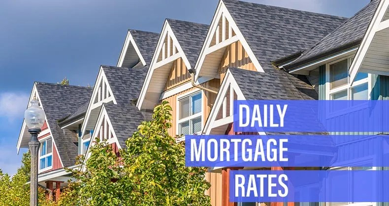 Mortgage rates slide for Tuesday