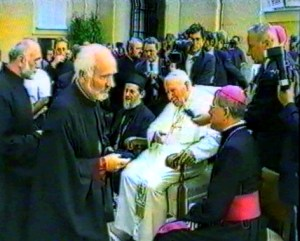 Vlada Stanimirović kod pape