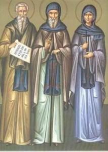 Prepodobni Isakije, Dalmat i Faust