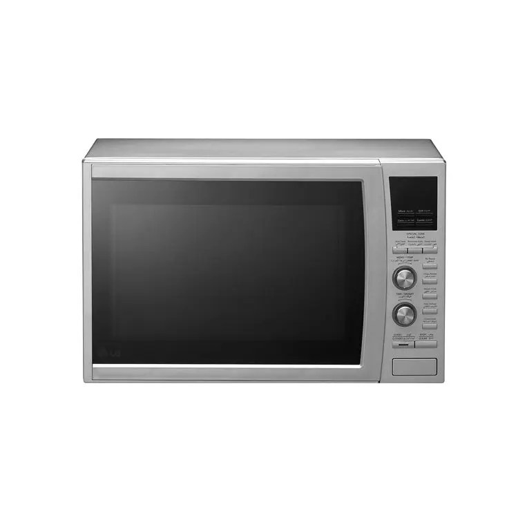 lg convection microwave oven 42 liter silver mc9280mr