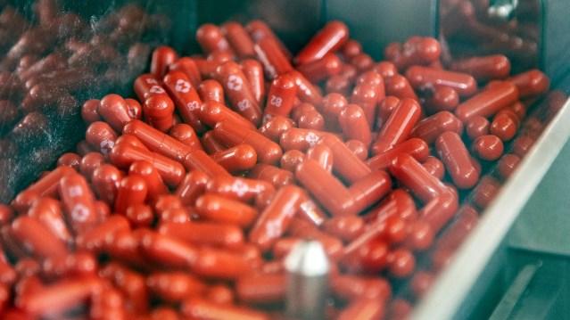 Merck a développé une pilule Covid « qui réduira de moitié les hospitalisations et les décès »