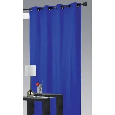 achat rideau bleu pas cher retrait