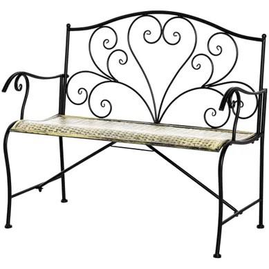 chaise banc tabouret de jardin