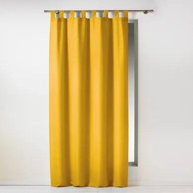achat rideau jaune pas cher retrait