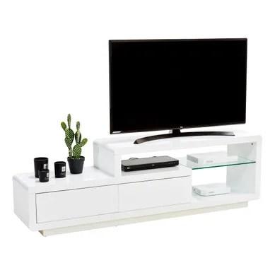 meuble tv blanc pas cher but fr