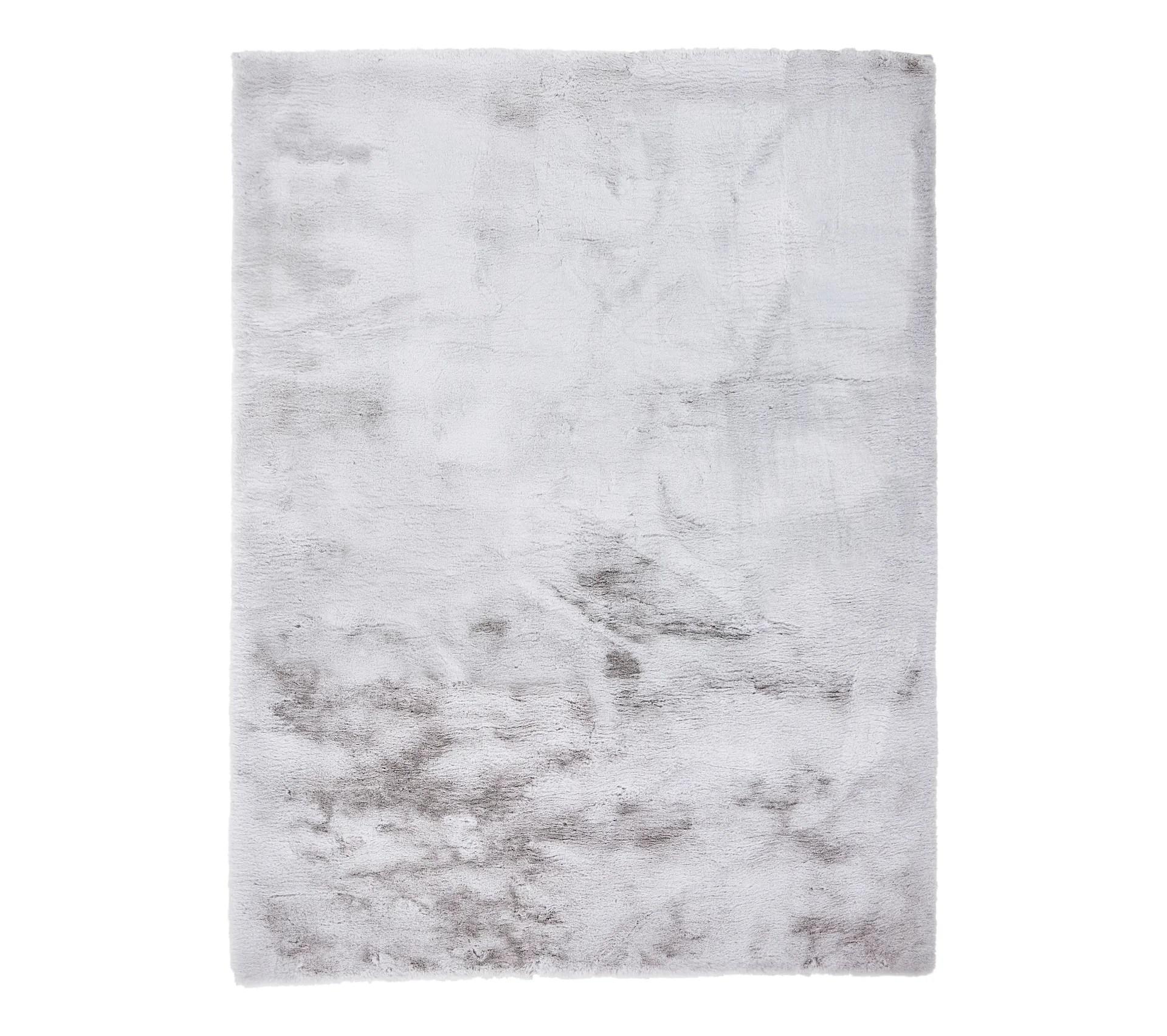 tapis fausse fourrure jacob gris