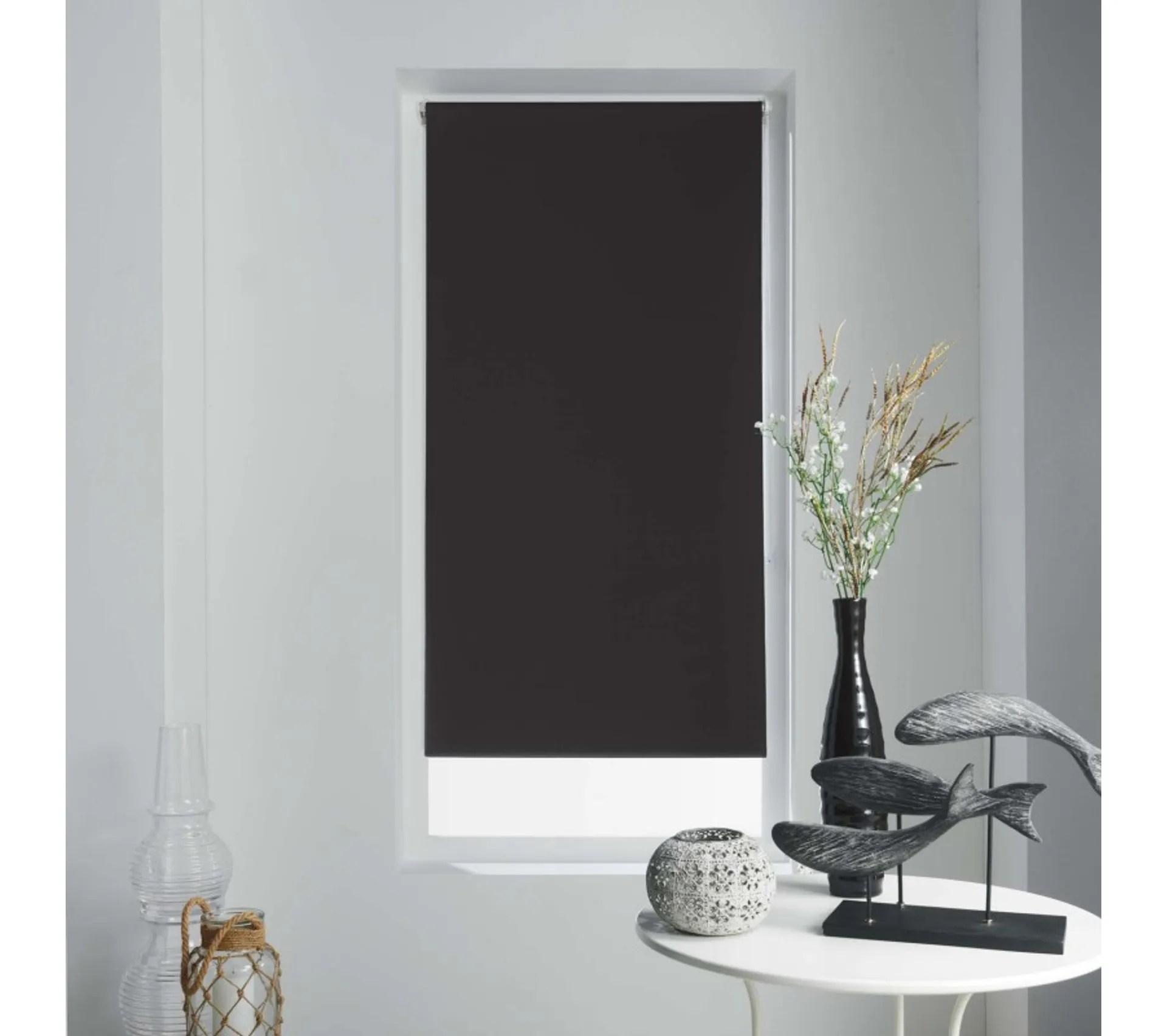 store enrouleur occultant occult 45x180 cm noir