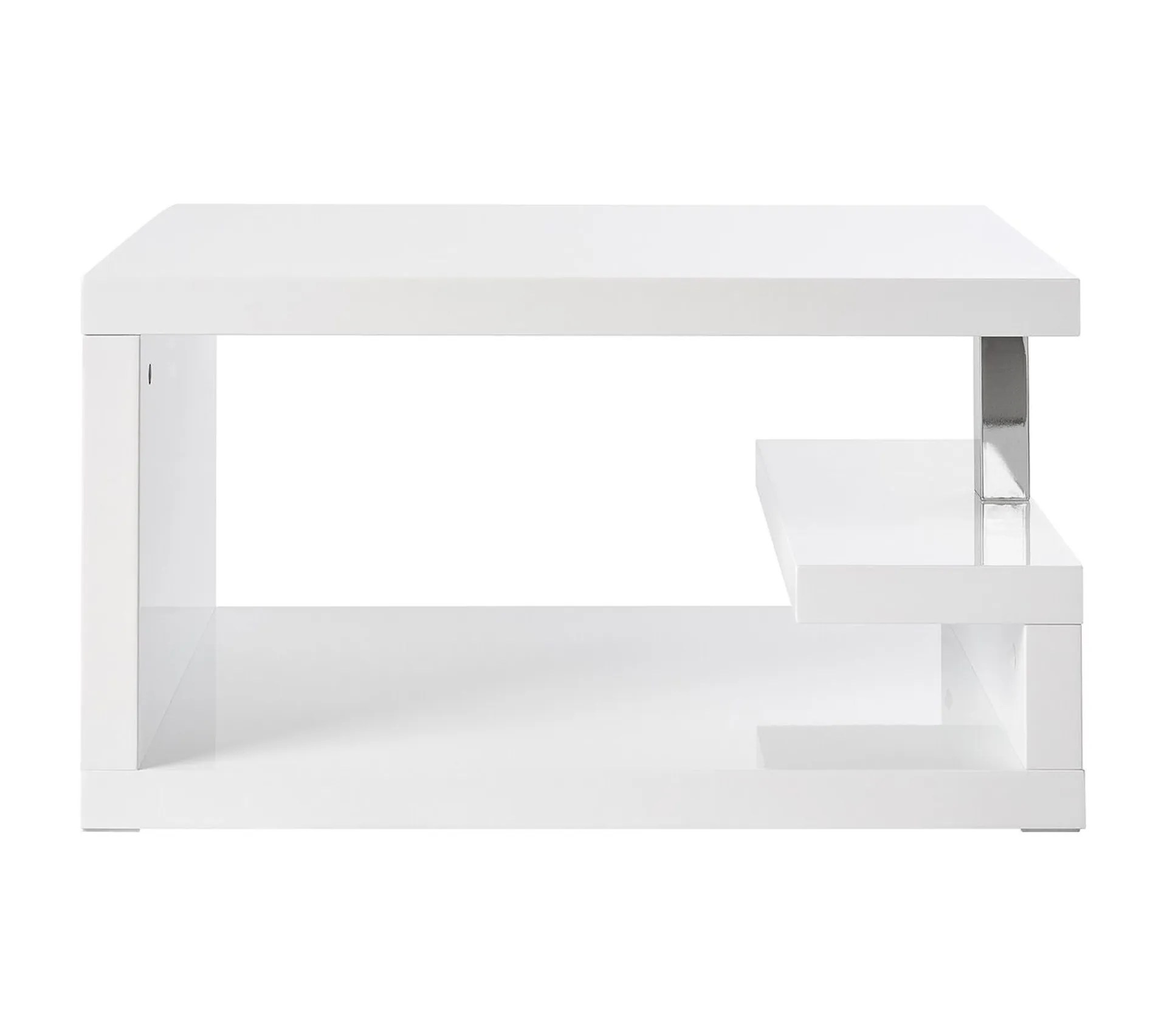 table basse design laquee blanche rex