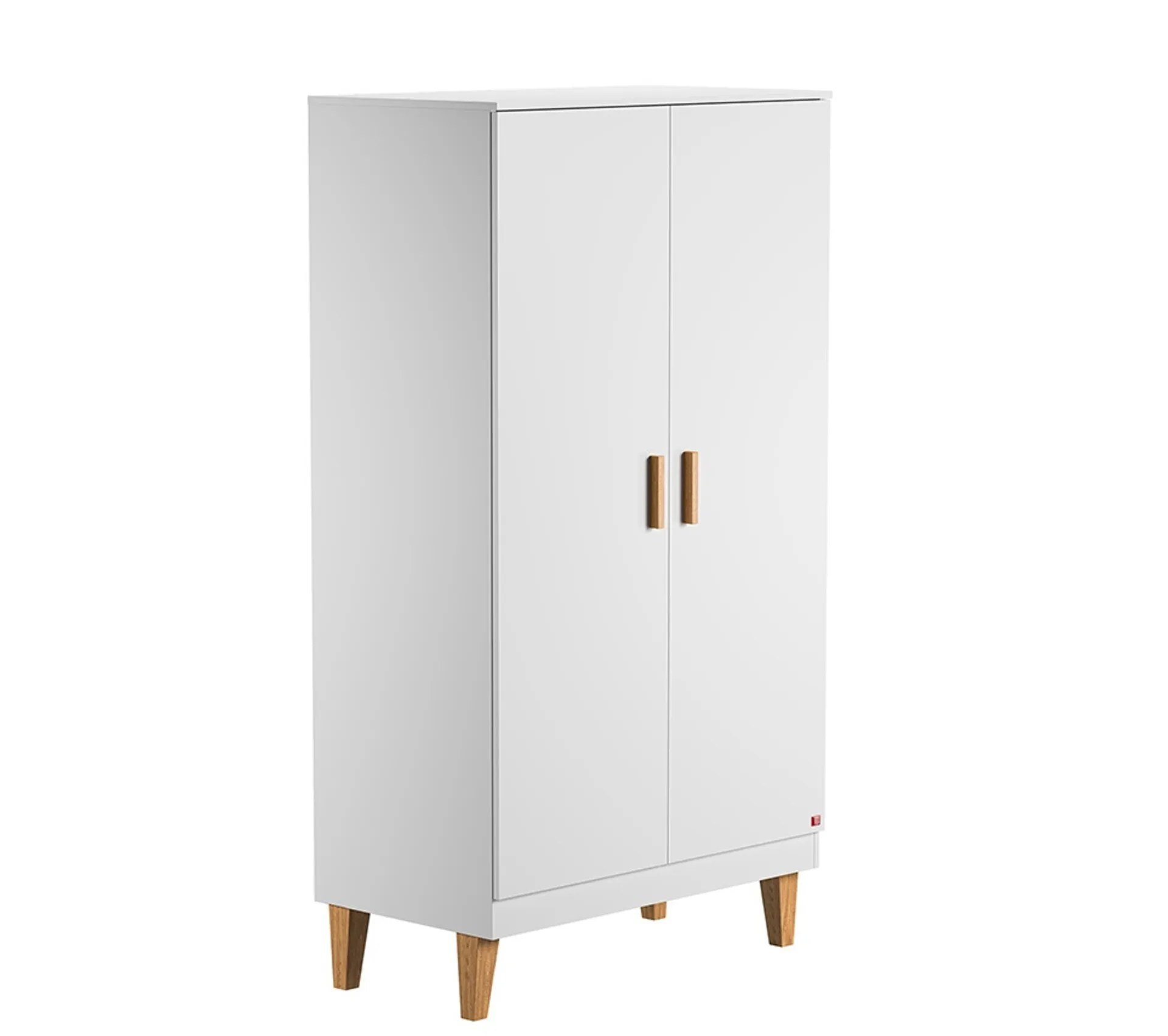 armoire penderie scandinave blanche jill