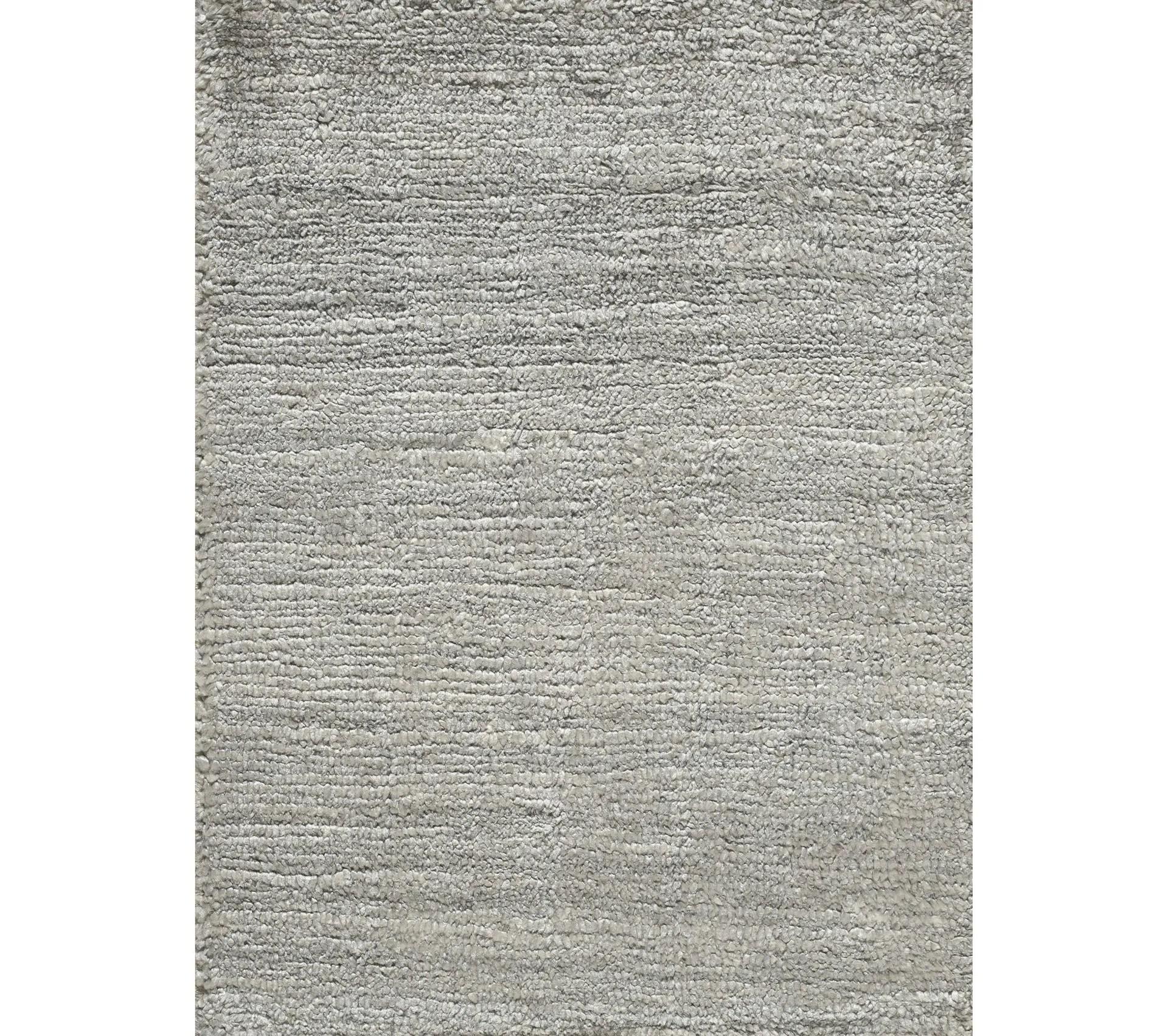 tapis silky gris clair 200 x 300 cm