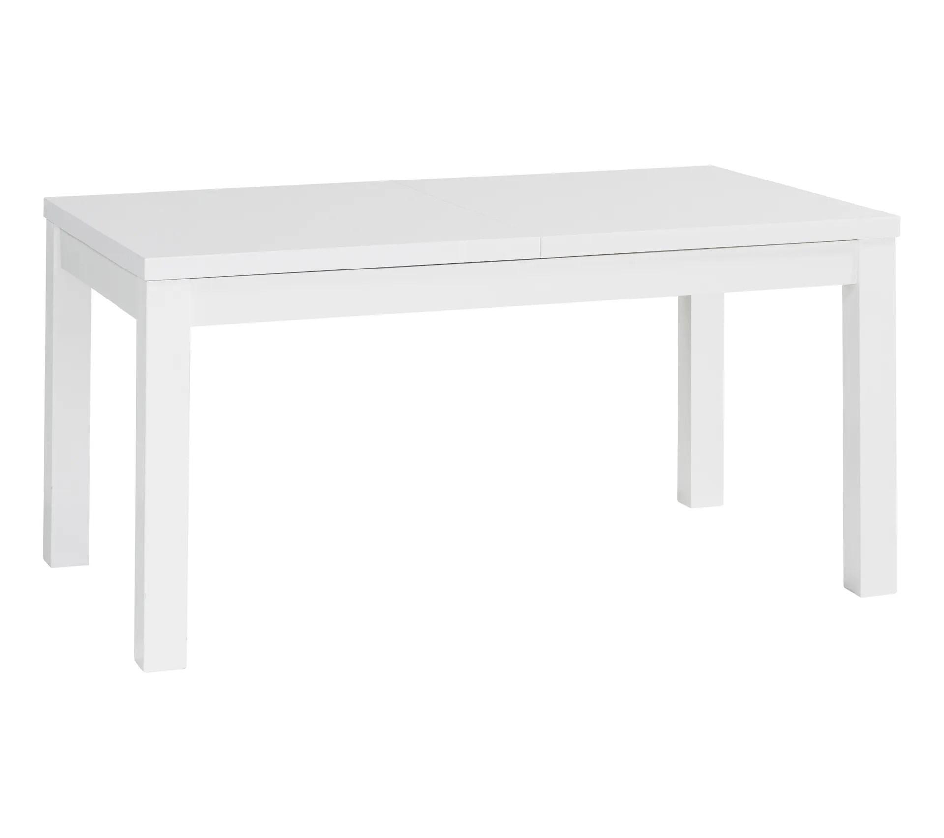 table l 160 cm urbana 3 blanc
