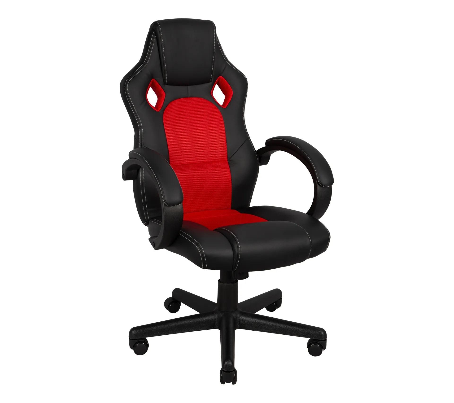 fauteuil de bureau turbo 2 noir et rouge