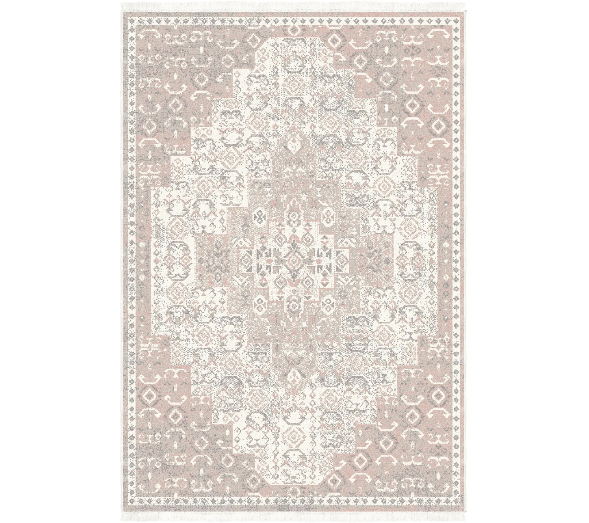 tapis 160x230 cm margot rose