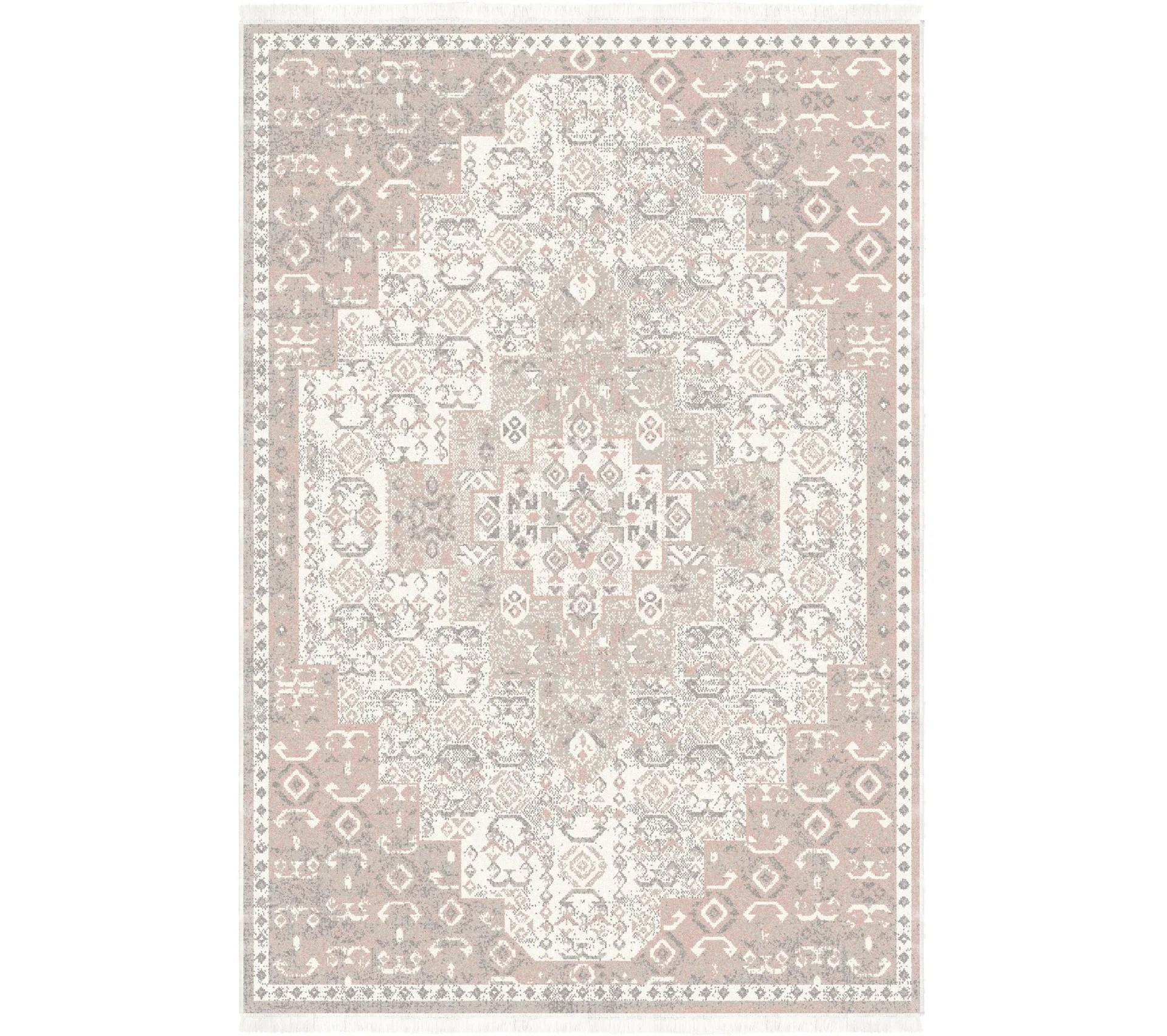tapis 160x230 cm margot rose
