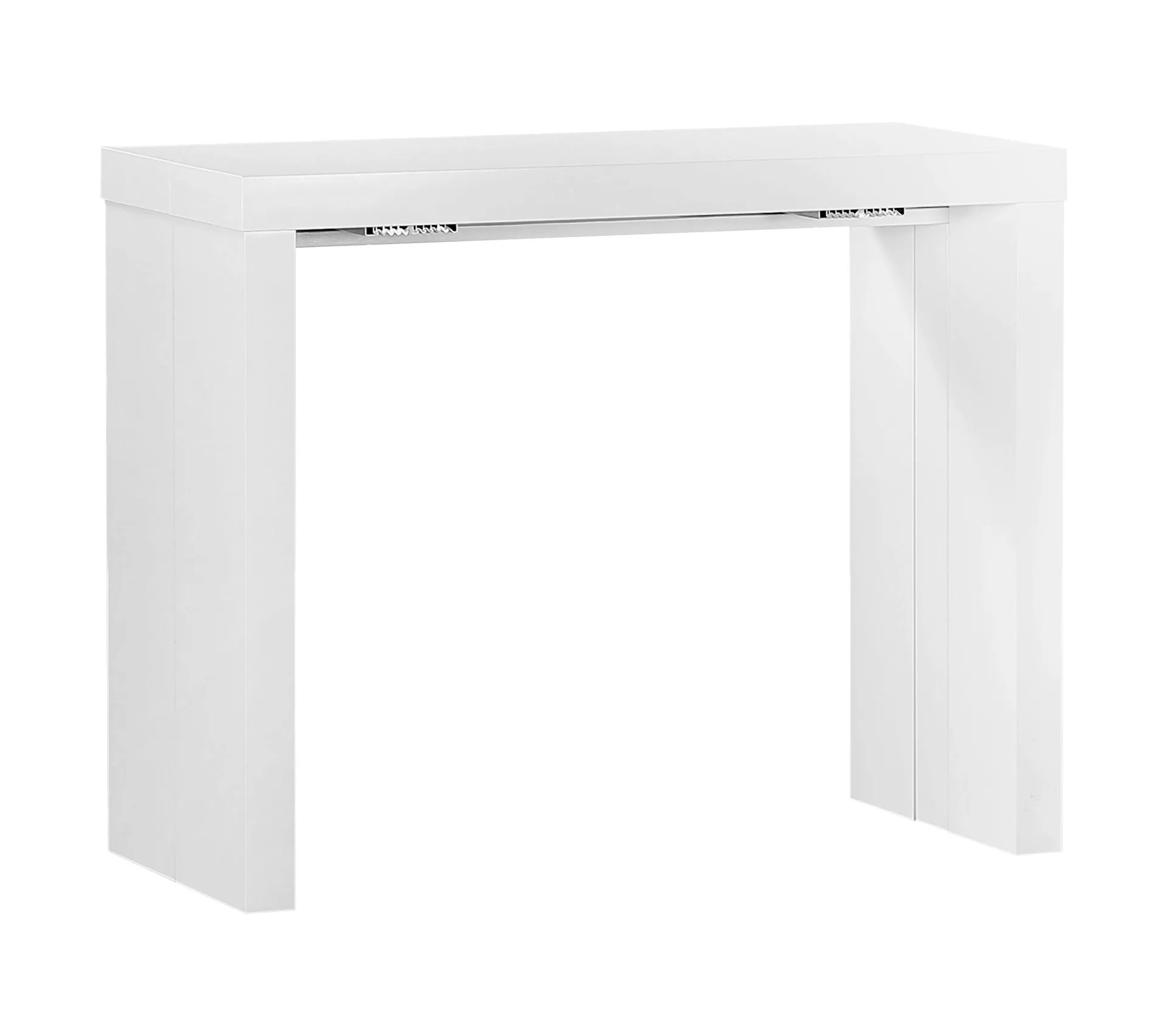 console extensible helena blanc laque