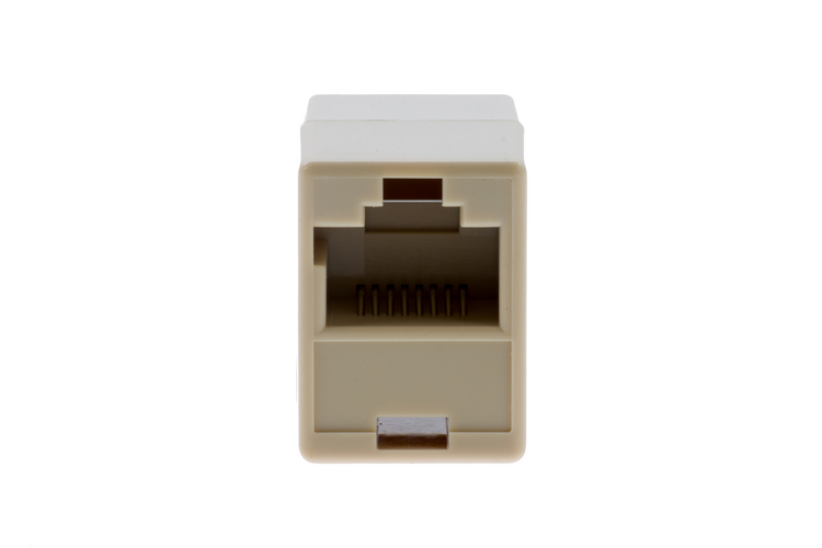 Rj 45 Plug To Rj 45 Jack Adapter With Translation Wiring For Cisco And