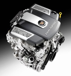 cadillac twin turbo debuts in all new 2014 cts sedan cadillac v6 engine diagram [ 3000 x 2400 Pixel ]