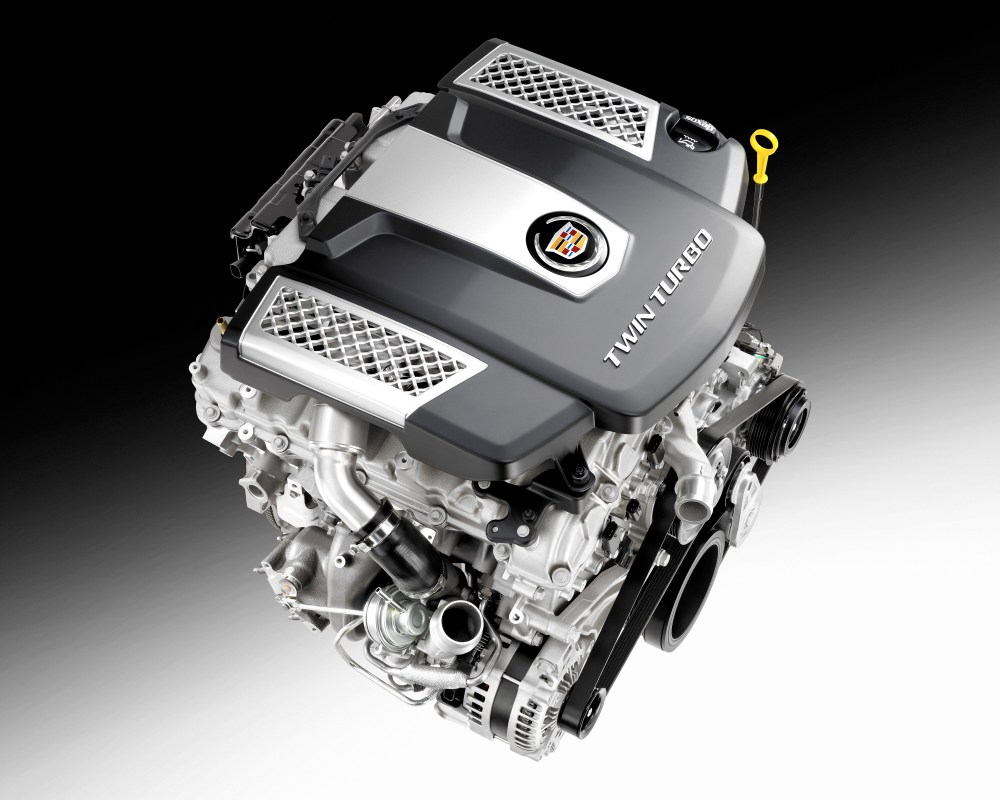 medium resolution of cadillac twin turbo debuts in all new 2014 cts sedan cadillac v6 engine diagram