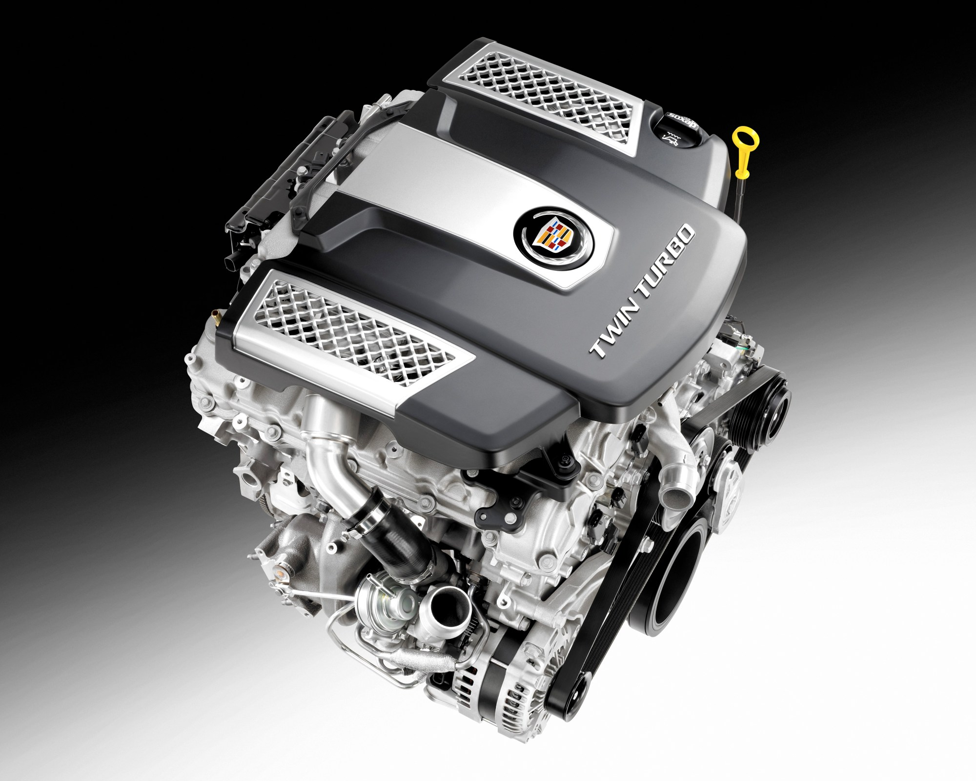 hight resolution of cadillac twin turbo debuts in all new 2014 cts sedan cadillac v6 engine diagram