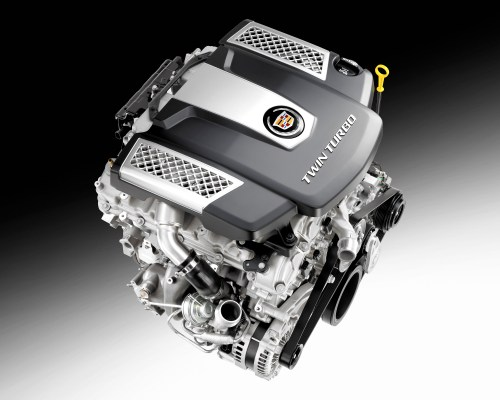 small resolution of cadillac twin turbo debuts in all new 2014 cts sedan cadillac v6 engine diagram