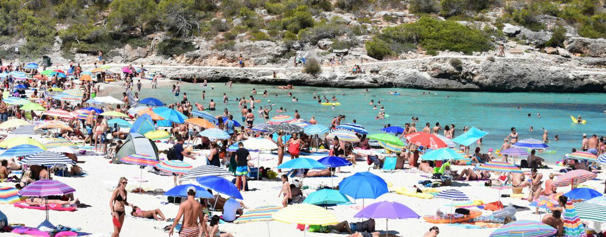 mass tourism in mallorca trouble in
