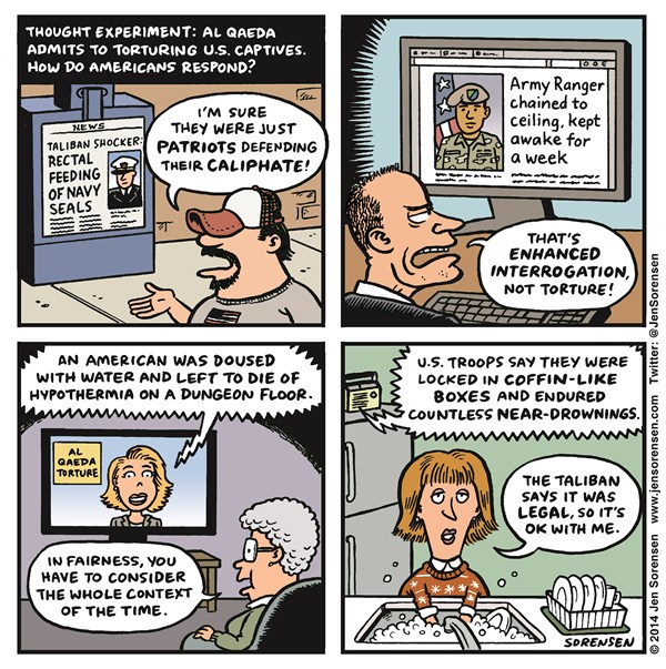 157798 600 Torture Report cartoons