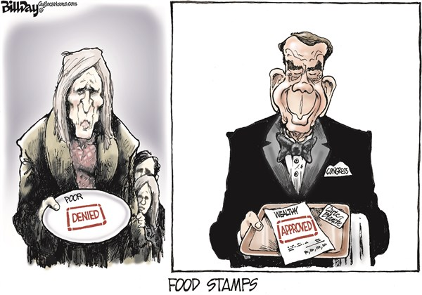 137967 600 FOOD STAMPS cartoons