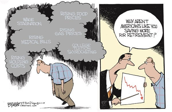 146712 600 Saving for Retirement cartoons