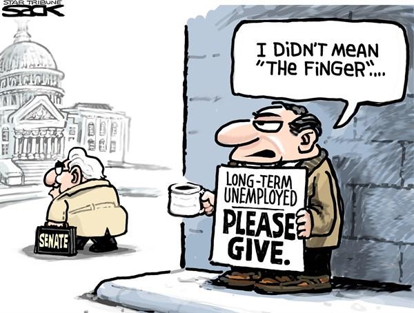 143165 600 Unaided Unemployed cartoons