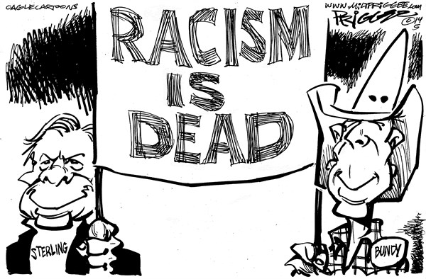 Political Cartoons Racism Pictures to Pin on Pinterest