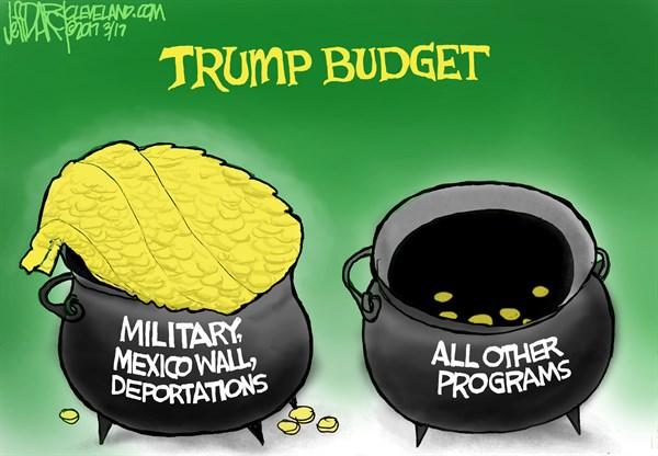 Jeff Darcy - Cleveland.com - Trump Budget - English -