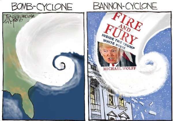 Bannon Fire and Fury, Jeff Darcy,Cleveland.com,