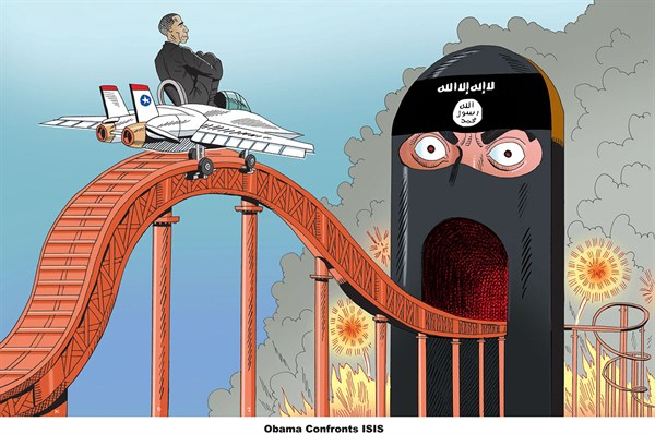 153296 600 Obama Confronts ISIS cartoons